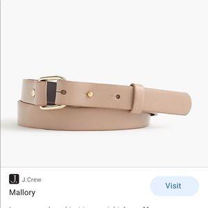 J Crew Mallory Belt